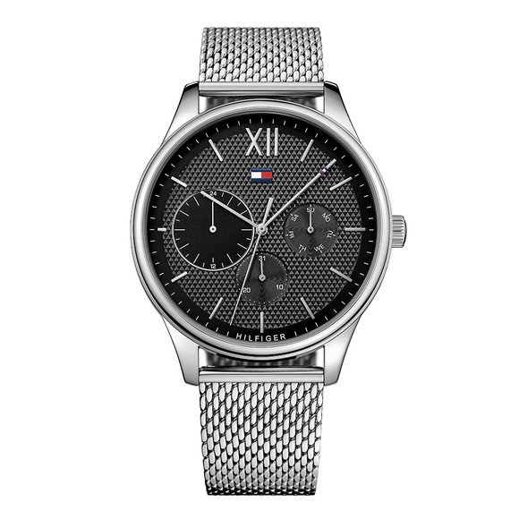 Tommy Hilfiger Mens Silver 1791415 Watch main image