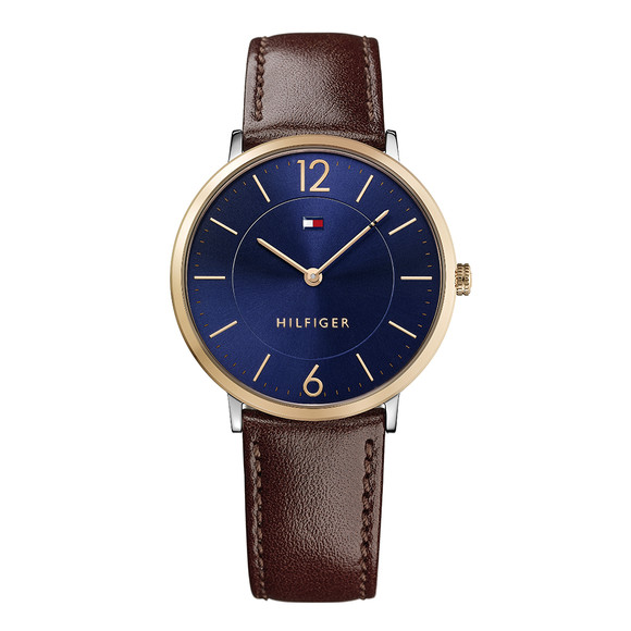 Tommy Hilfiger Mens Brown 1710354 Watch main image