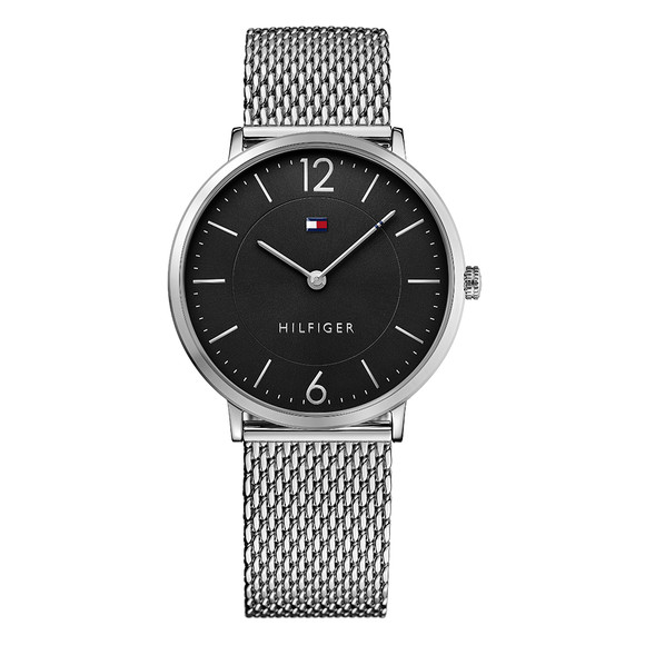 Tommy Hilfiger Mens Silver 1710355 Watch main image
