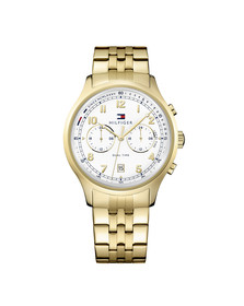 Tommy Hilfiger Mens Gold Emerson Watch