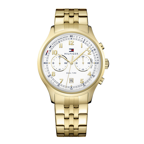 Tommy Hilfiger Mens Gold Emerson Watch main image