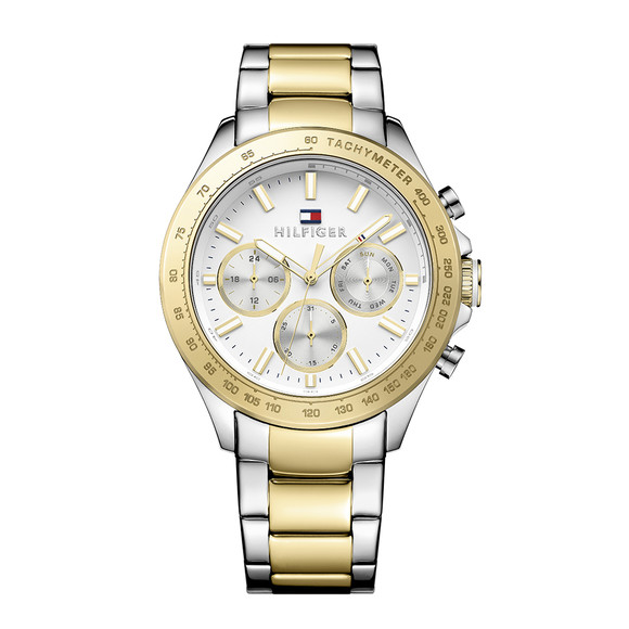 Tommy Hilfiger Mens Gold 1791226 Watch main image