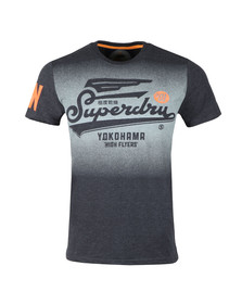 Superdry Mens Blue High Flyers Tee