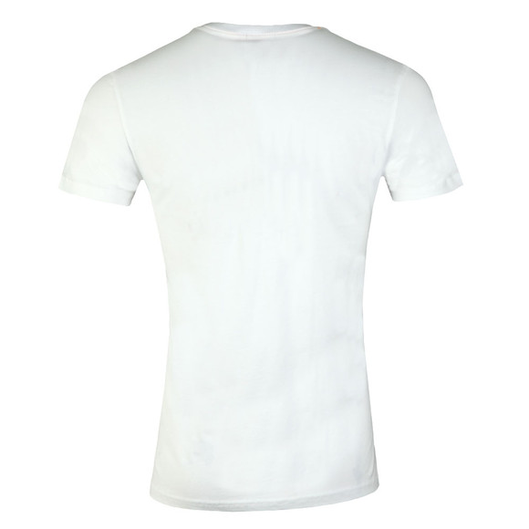 Superdry Mens White Classics Lite Weight Tee main image