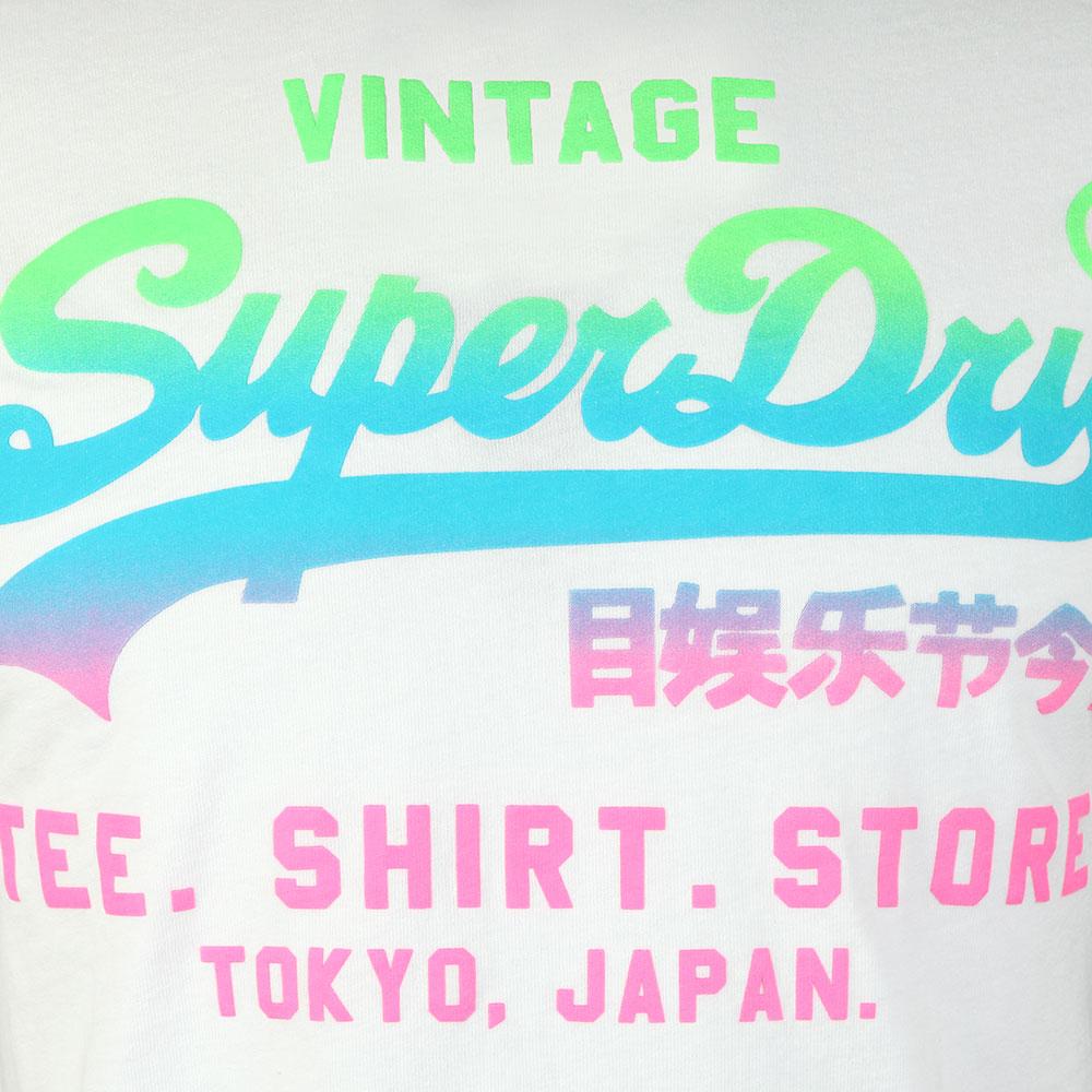 Vintage Logo Hyper Fade Tee main image