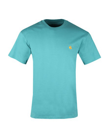 Carhartt Mens Green Chase T Shirt