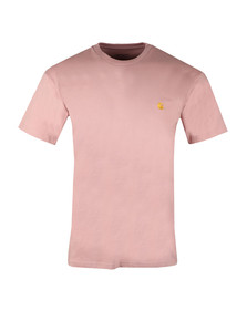 Carhartt Mens Red Chase T Shirt