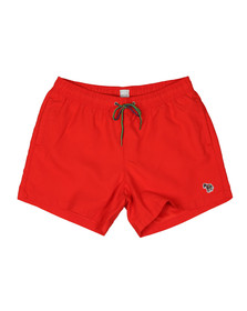 Paul Smith Mens Red Zebra Swim Short
