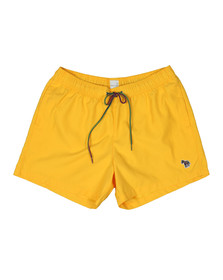 PS Paul Smith Mens Yellow Zebra Swim Short