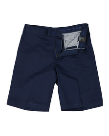 Paul & Shark Mens Blue Stretch Chino Shorts