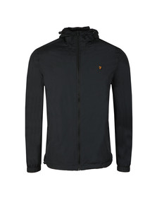 Farah Mens Black Smith Hooded Jacket