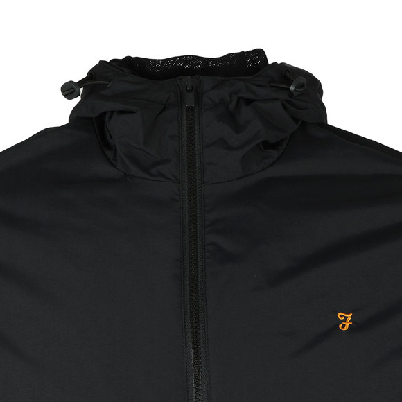 Farah Mens Black Smith Hooded Jacket main image