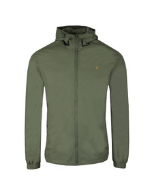 Farah Mens Green Smith Hooded Jacket