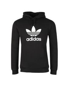 Adidas Originals Mens Black Trefoil Hoodie