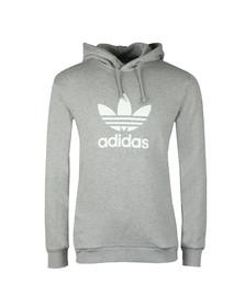adidas Originals Mens Grey Trefoil Hoodie