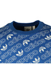 Adidas Originals Mens Blue S/S Aop Tee