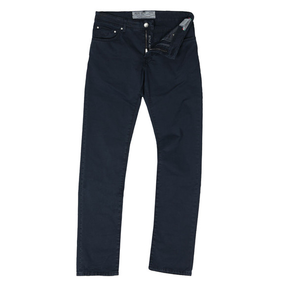 Jacob Cohen Mens Blue PW625 Tailored Chino