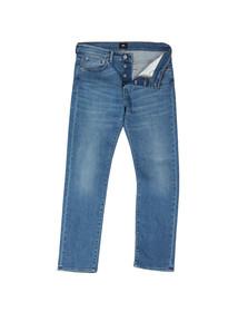 Edwin Mens Blue ED-80 Slim Quartz Blue Denim Jean