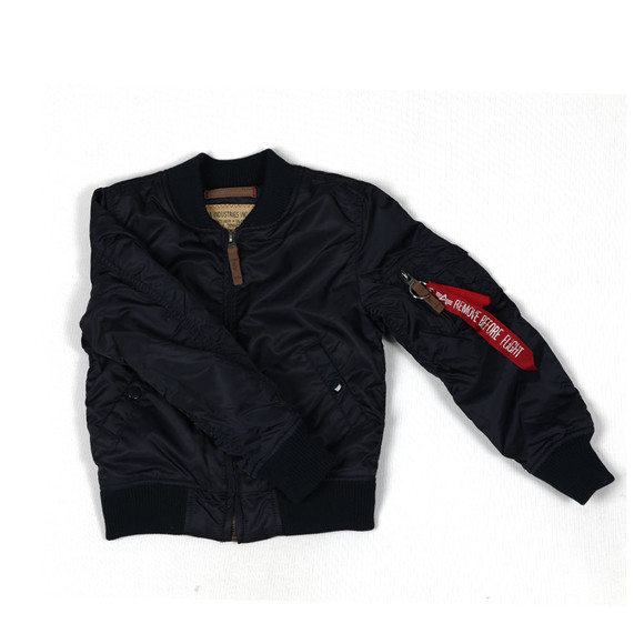 Alpha Industries Boys Blue Boys MA-1 Bomber