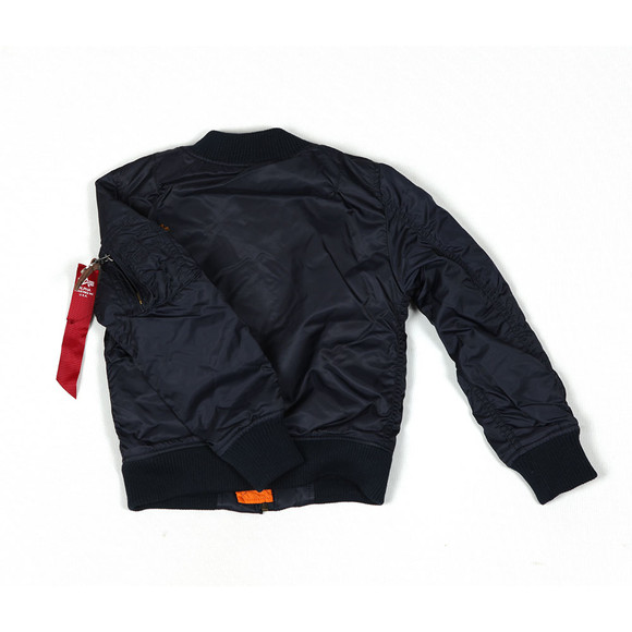Alpha Industries Boys Blue Boys MA-1 Bomber main image
