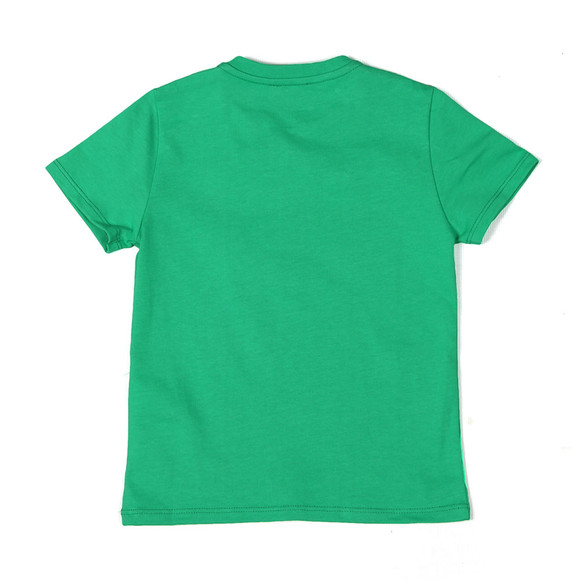 Kenzo Kids Boys Green Stripe Logo T Shirt main image