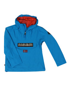 Napapijri Boys Blue Rainforest Summer Jacket