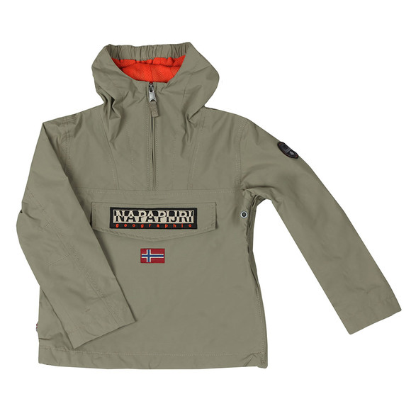 Napapijri Boys Green Rainforest Summer Jacket main image