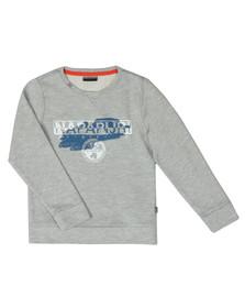 Napapijri Boys Grey Bogly Sweatshirt
