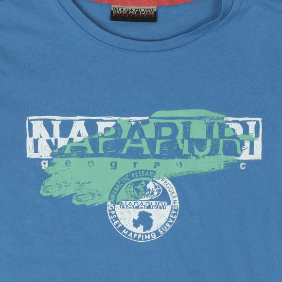 Napapijri Boys Blue Shadow Tee