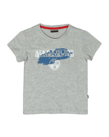 Napapijri Boys Grey Shadow Tee