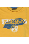 Napapijri Boys Yellow Shadow Tee