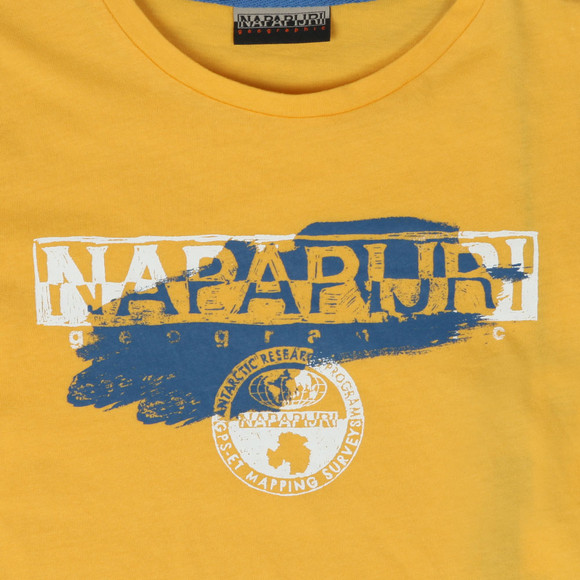Napapijri Boys Yellow Shadow Tee main image