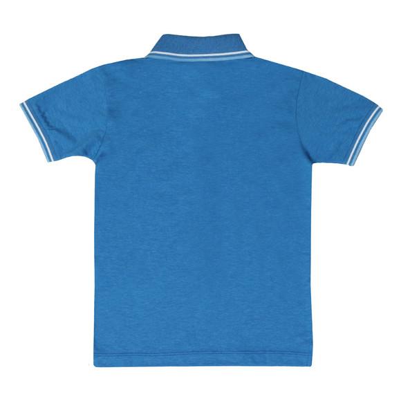 Paul & Shark Cadets Boys Blue Tipped Polo Shirt main image