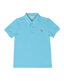 Paul Smith Junior Boys Blue Ridley Polo Shirt