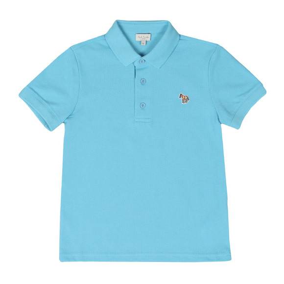 Paul Smith Junior Boys Blue Ridley Polo Shirt main image
