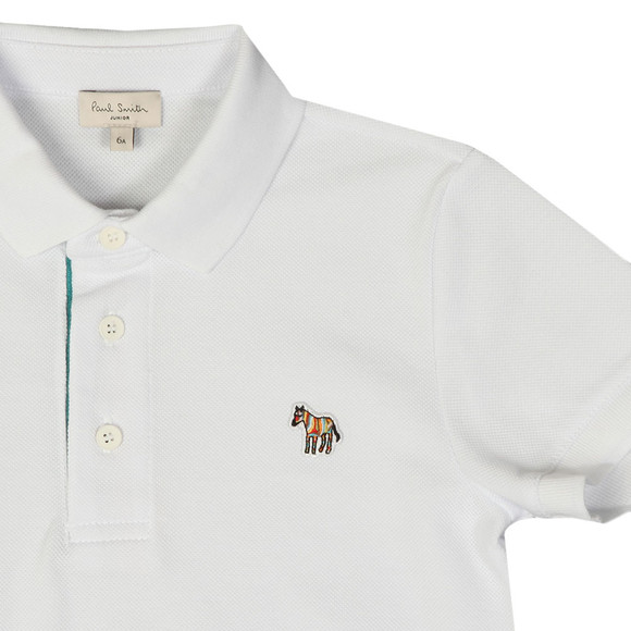 Paul Smith Junior Boys White Ridley Polo Shirt main image