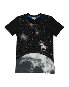 Paul Smith Junior Boys Black Rusty Glow In The Dark T Shirt