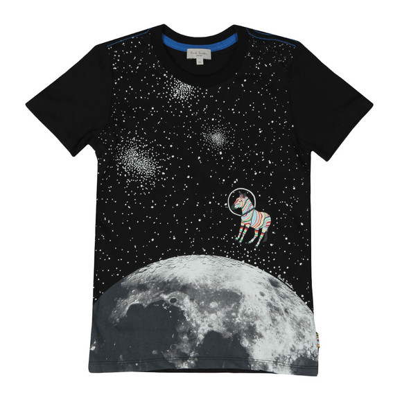 Paul Smith Junior Boys Black Rusty Glow In The Dark T Shirt main image