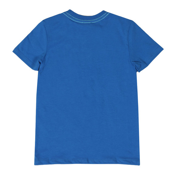 Paul Smith Junior Boys Blue Romano Zebra T Shirt main image