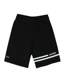 Lacoste Sport Boys Black Sweat Shorts