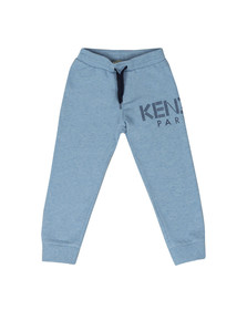 Kenzo Kids Boys Blue Logo Fleece Jogger