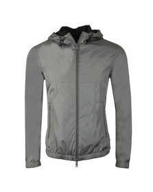 Emporio Armani Mens Grey Full Zip Lightweight Jacket