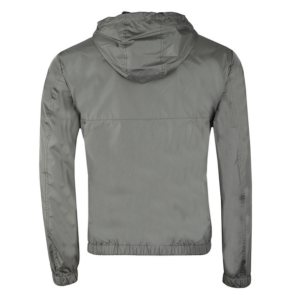 Emporio Armani Mens Grey Full Zip Lightweight Jacket main image