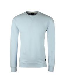 Edwin Mens Blue Classic Crew Sweatshirt