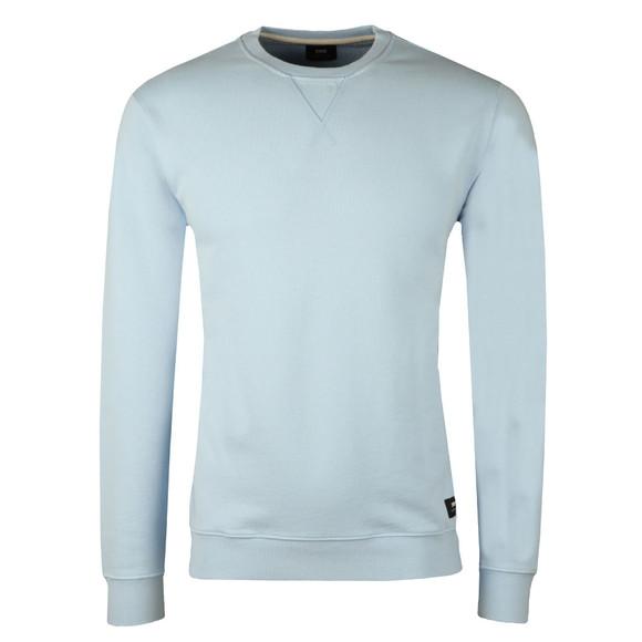 Edwin Mens Blue Classic Crew Sweatshirt main image