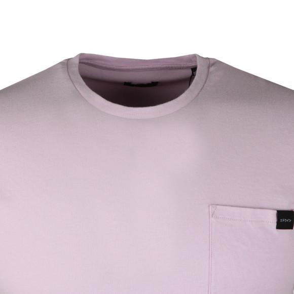 Edwin Mens Pink Pocket T Shirt main image