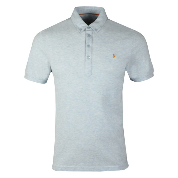 Farah Mens Blue Merriweather SS Polo Shirt main image