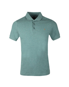 Farah Mens Green Blaney Polo Shirt