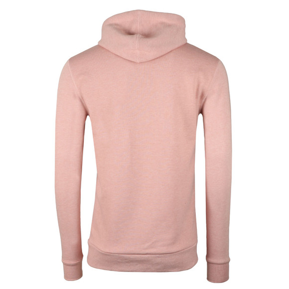 Eleven Degrees Mens Pink Pull Over Hoodie main image