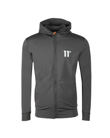 Eleven Degrees Mens Grey Poly Jacket